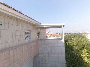 פרגולה אלומיניום לגג